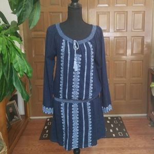 Lucky Brand boho dress. Size S. In good condition